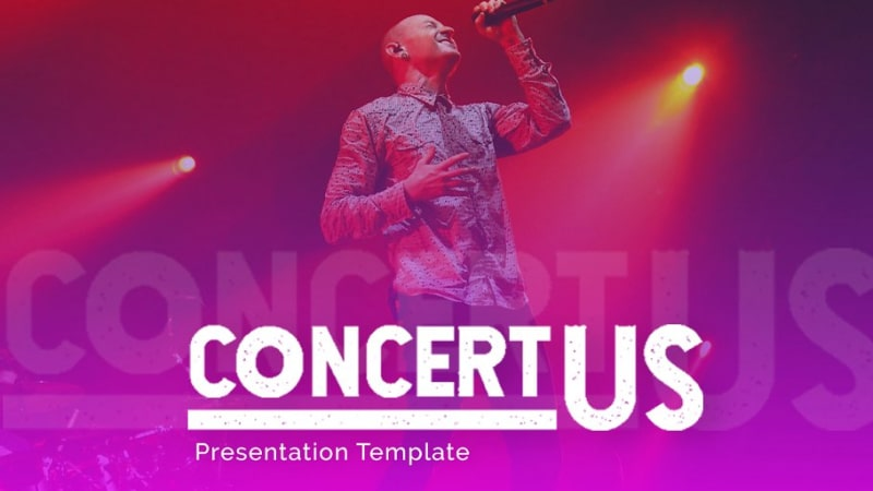 Concertus Music PowerPoint Template