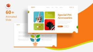 Dogster Animal PowerPoint Template