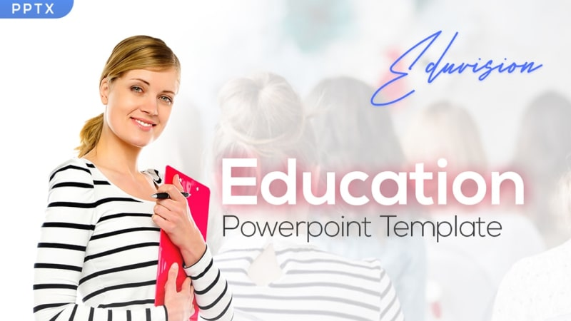 Eduvision Education PowerPoint Template