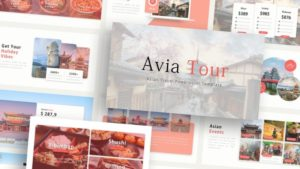 Avia Travelling PowerPoint Template