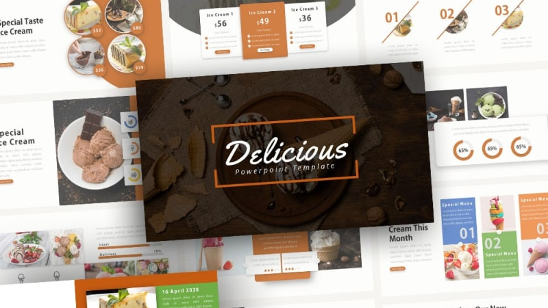 Free-Delicious-Ice-Cream-Powerpoint-Template