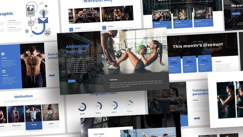 Free-Gym-Presentation-Template