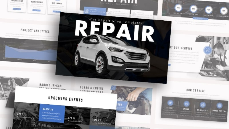 Free-Repair-Car-Repair-Powerpoint-Template