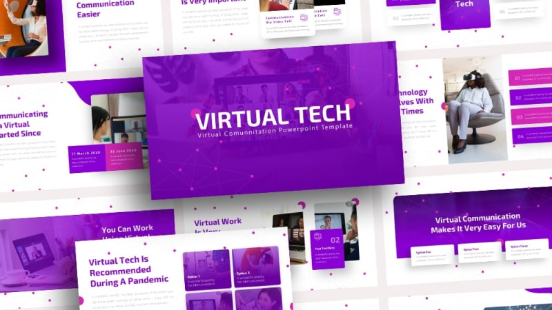 Free Virtual Reality PowerPoint Template