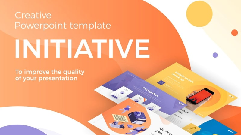 Initiative Art PowerPoint Template