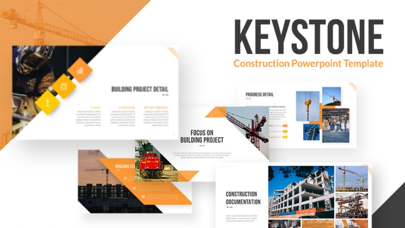 Keystone Architecture PowerPoint Template