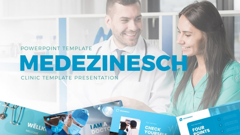 Medezinesch Pharmaceutical PowerPoint Template