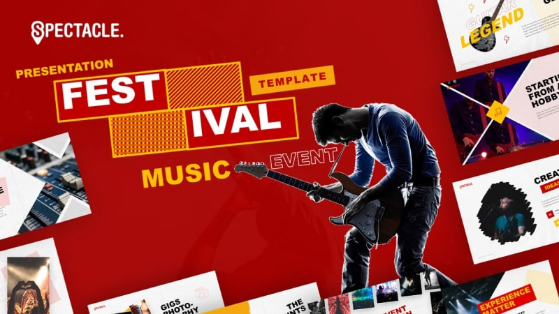 Spectacle – Music Event Presentation Template
