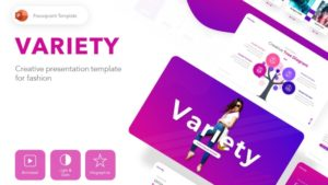 Variety Fashion PowerPoint Template