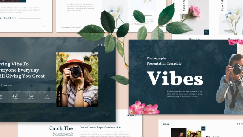 Vibes Photography PowerPoint Template