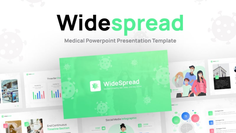 Widespread Health PowerPoint Template