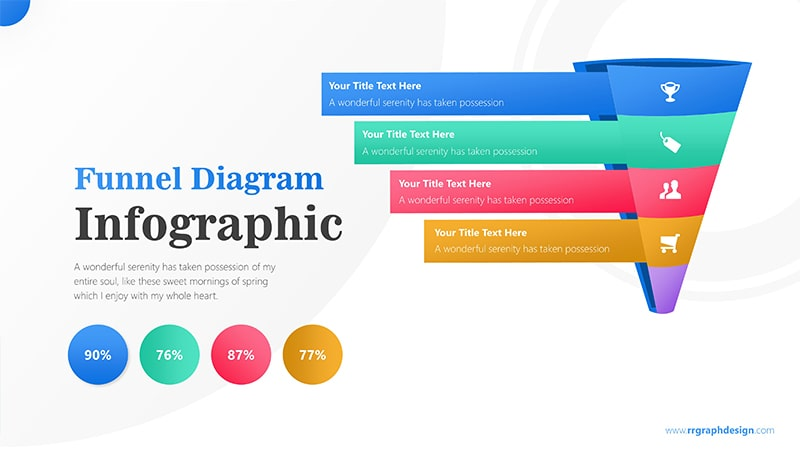 Roll Infographic PowerPoint Template