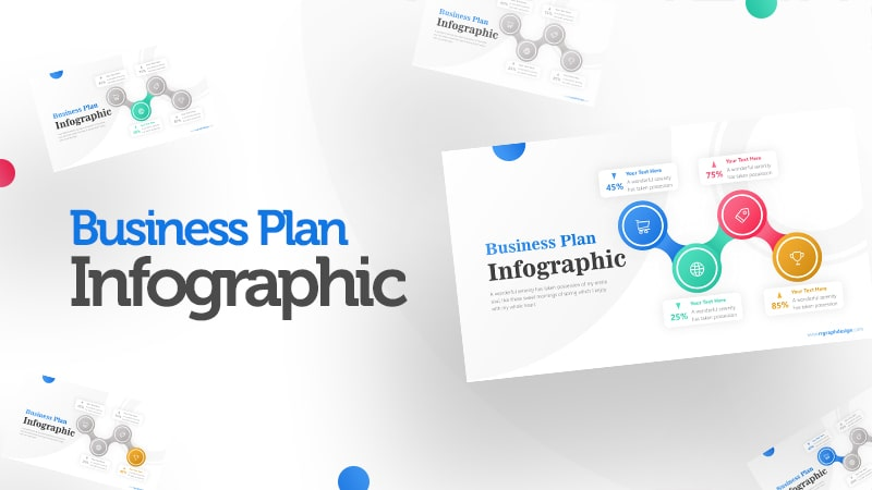 Spinner Infographic PowerPoint Template