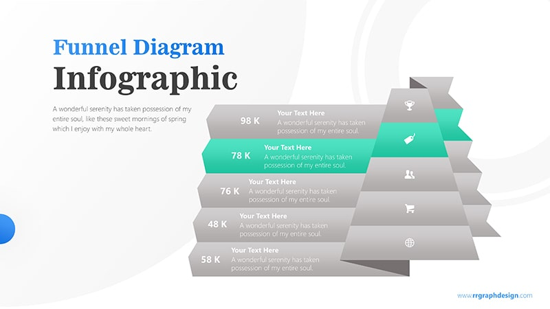 Pyramidal Infographic PowerPoint Template