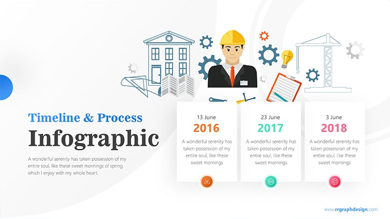Timeline Infographic PowerPoint Template