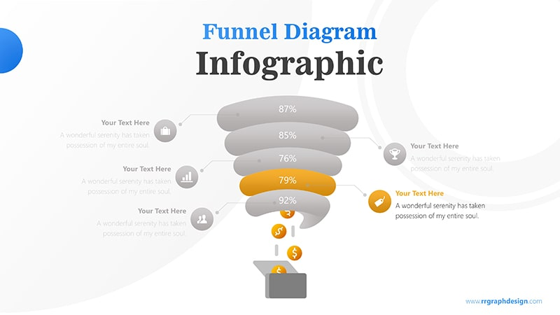 Tunnel Infographic PowerPoint Template