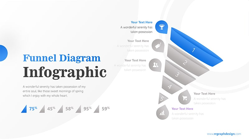 Cone Infographic PowerPoint Template