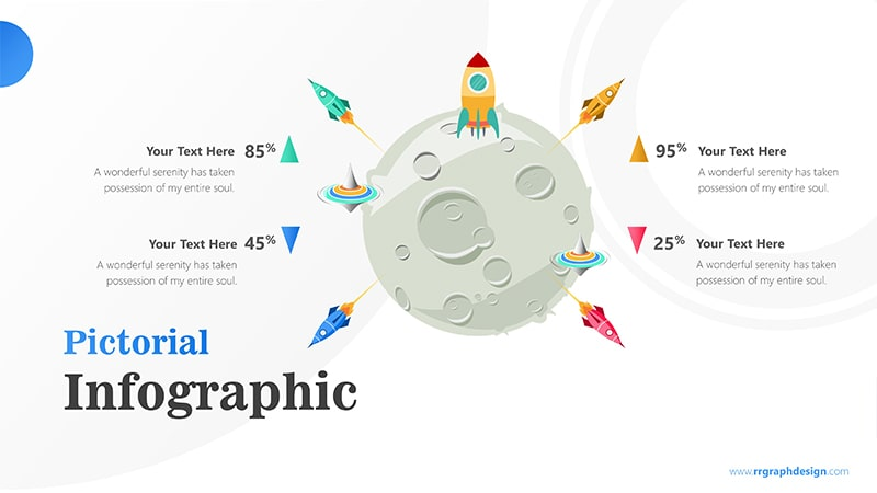 Satellite Infographic PowerPoint Template