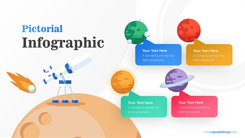 Telescope Infographic PowerPoint Template