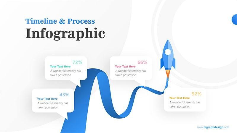 Rocket Infographic PowerPoint Template