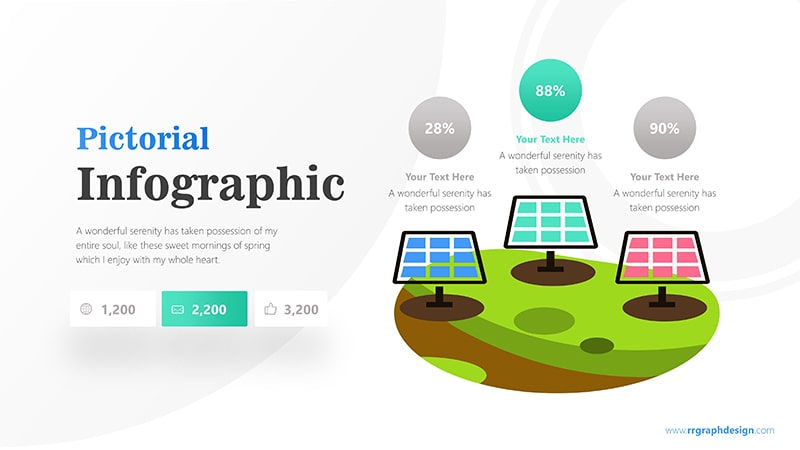 Pictorial Infographic PowerPoint Template