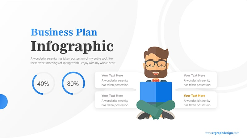 Reading Infographic PowerPoint Template
