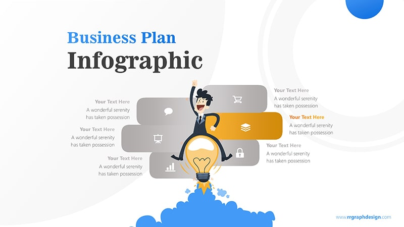 Headlamp Infographic PowerPoint Template