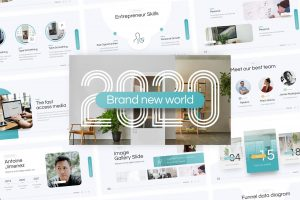 2020 Brand Multipurpose PowerPoint Template