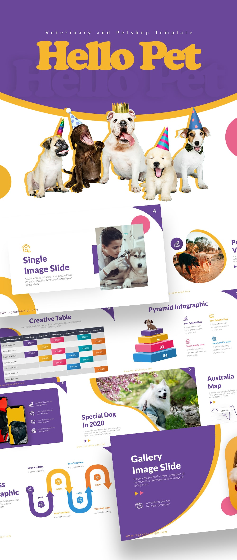 Hello Pet - Pet Shop Presentation Template