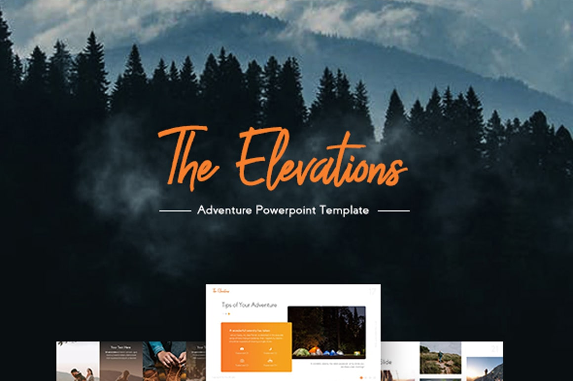 Elevations Travelling PowerPoint Template