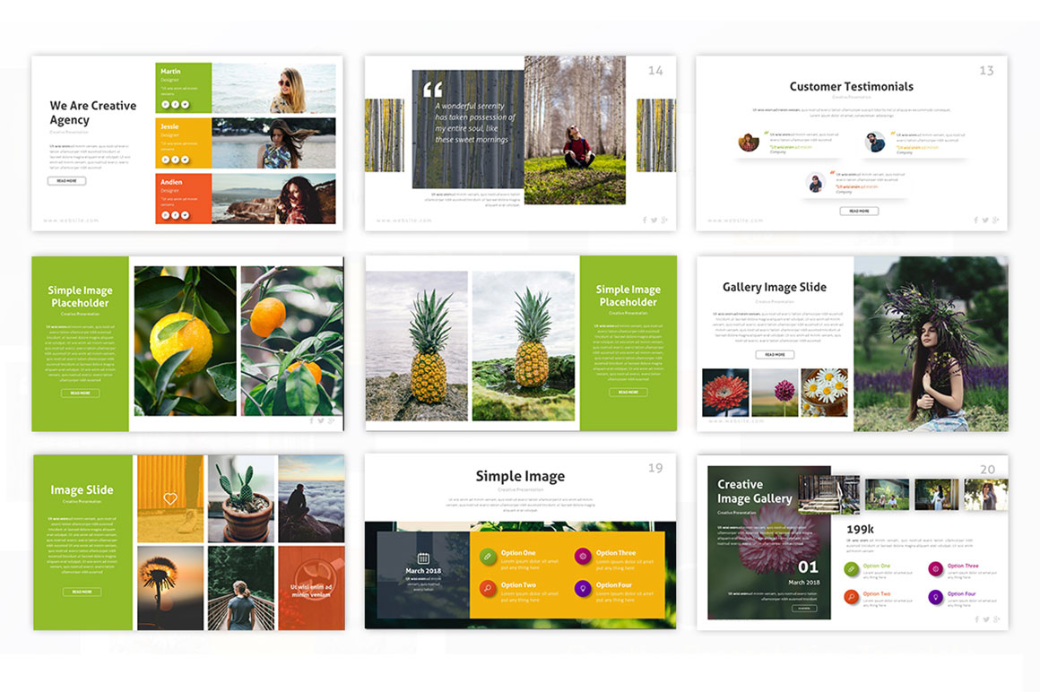 Inovable Photography PowerPoint Template