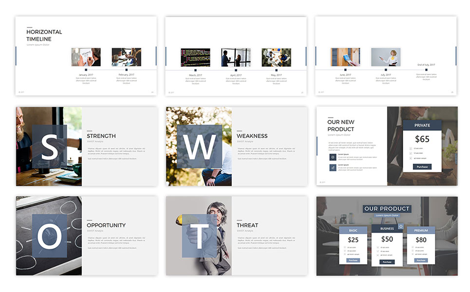 Accord Business PowerPoint Template