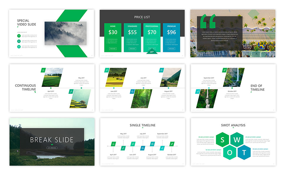 Authentic Agriculture PowerPoint Template