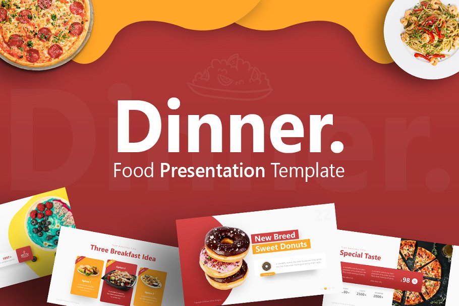 Dinner – Fine Dining Presentation Template
