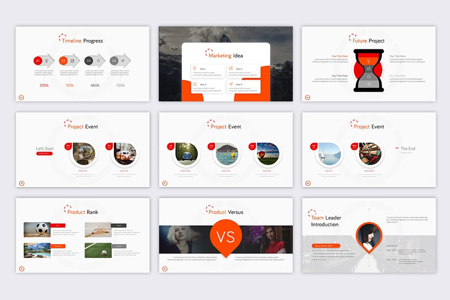Boost E-commerce PowerPoint Template