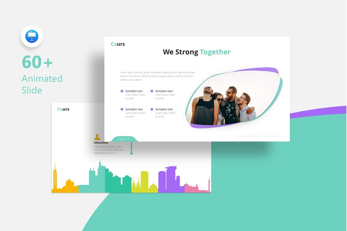 Cours Education PowerPoint Template