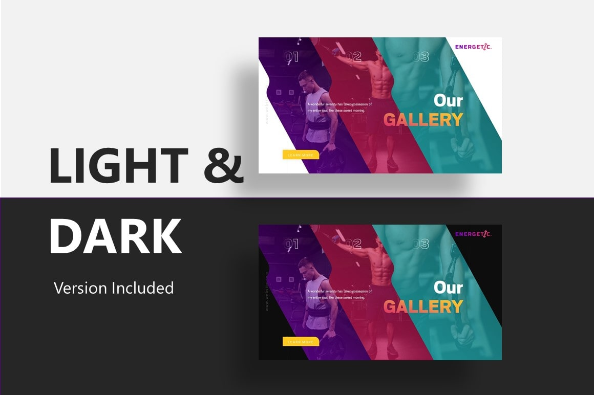 Energetic Sports PowerPoint Template