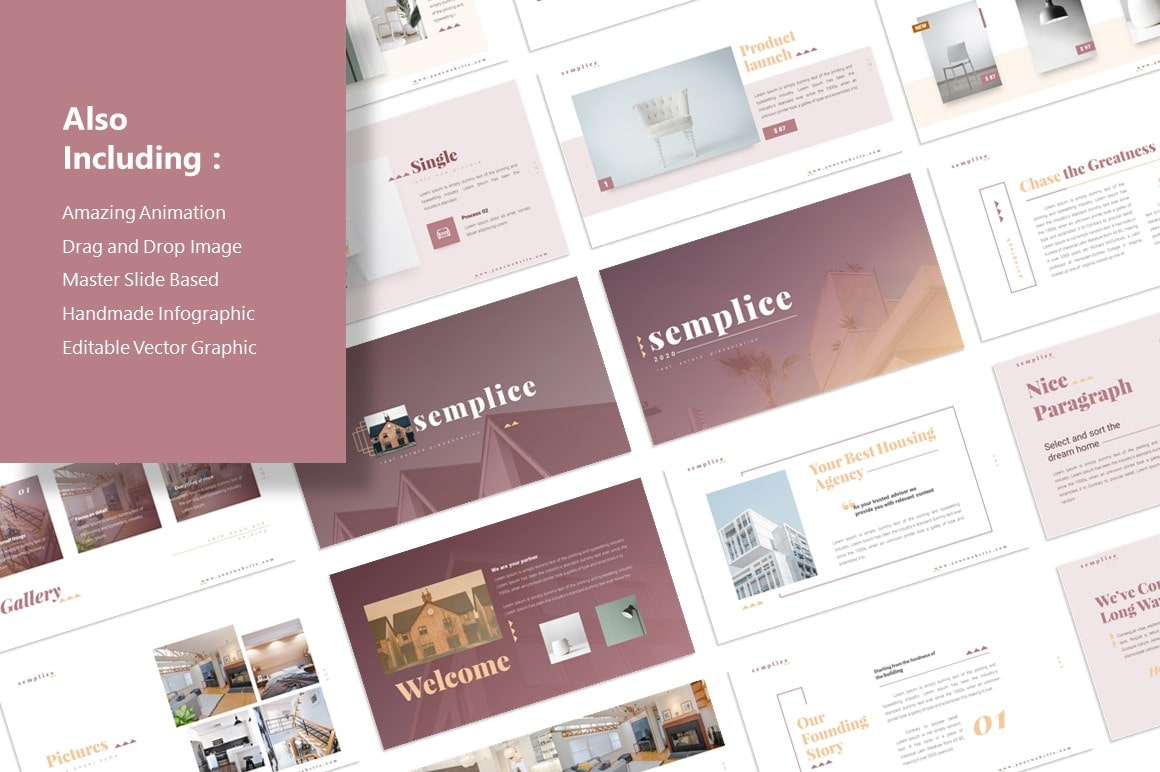 Semplice Real Estate PowerPoint