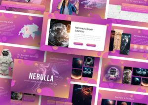 Free Nebulla Space PowerPoint