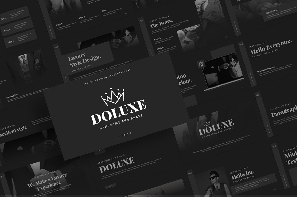Doluxe – Luxury Fashion Presentation Template