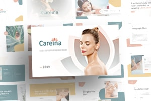 Careina Spa PowerPoint Template