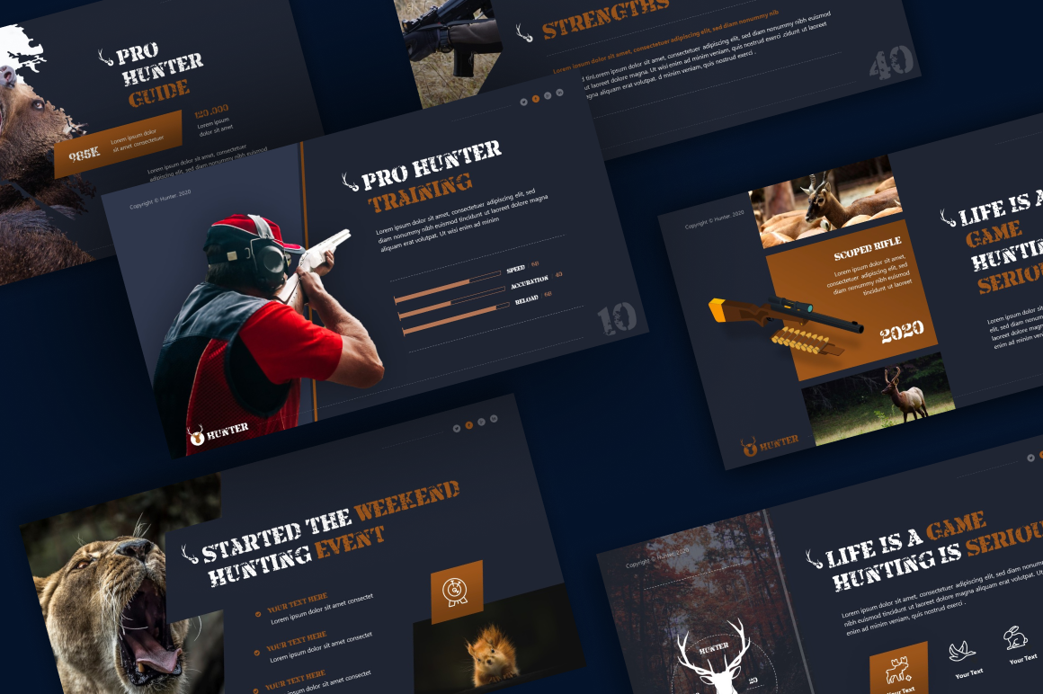 Hunter Hunting PowerPoint