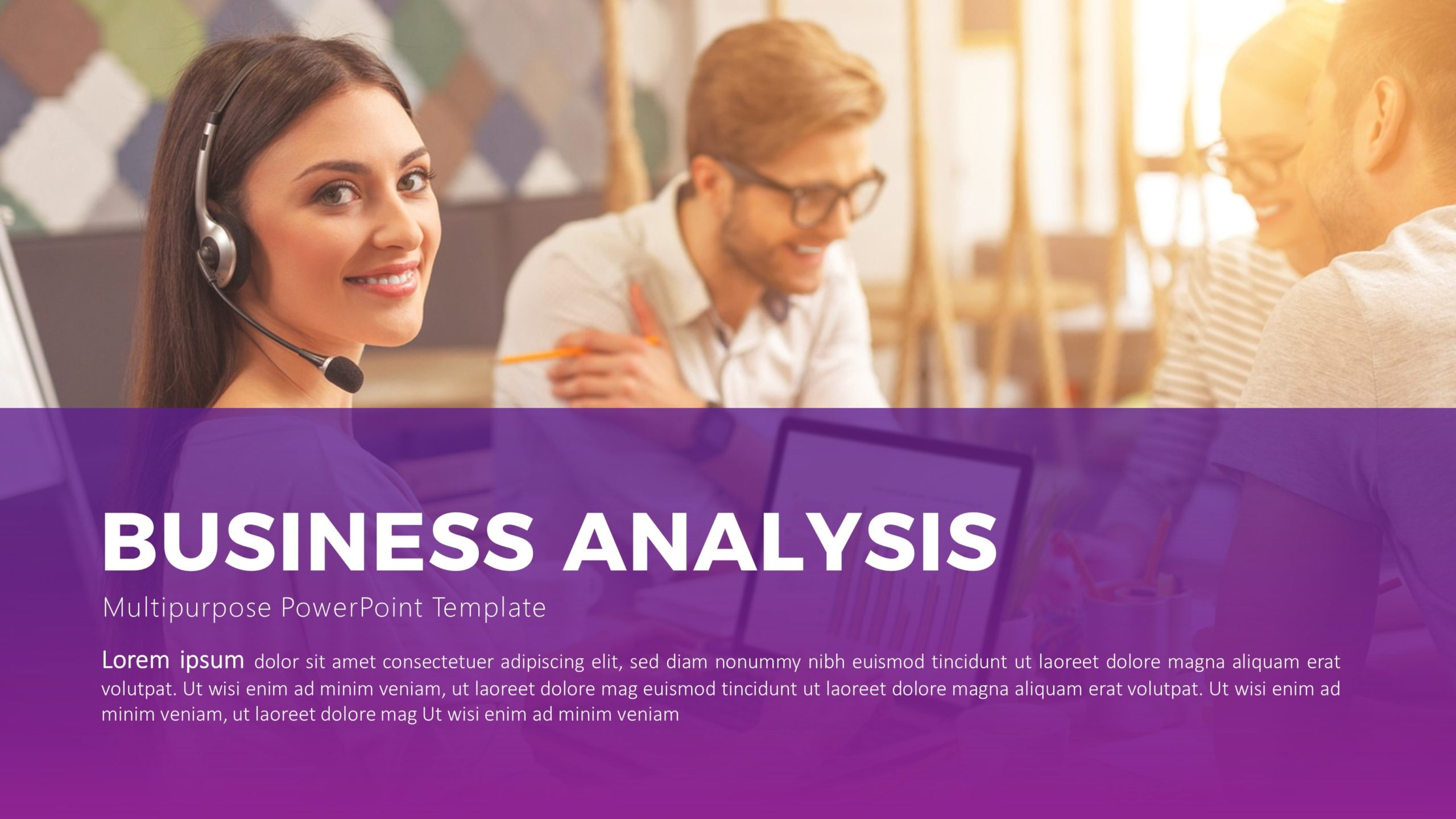 Free Business Analysis PowerPoint Template