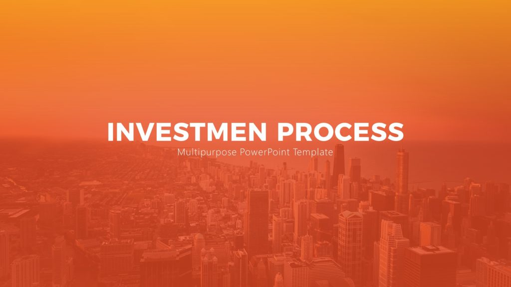 Free Investment Process PowerPoint Template