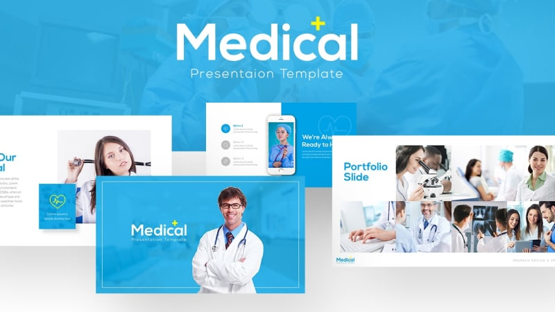 Free Medical Presentation Template 1-min