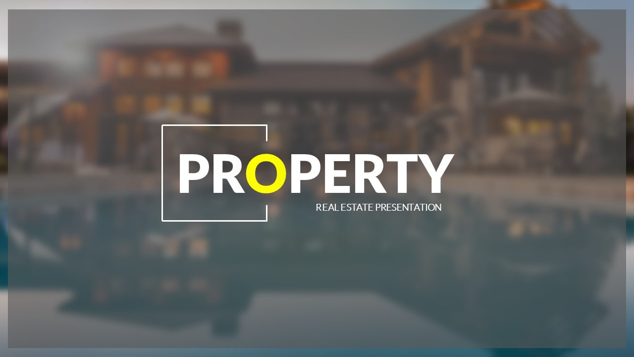 Free Property House PowerPoint Template