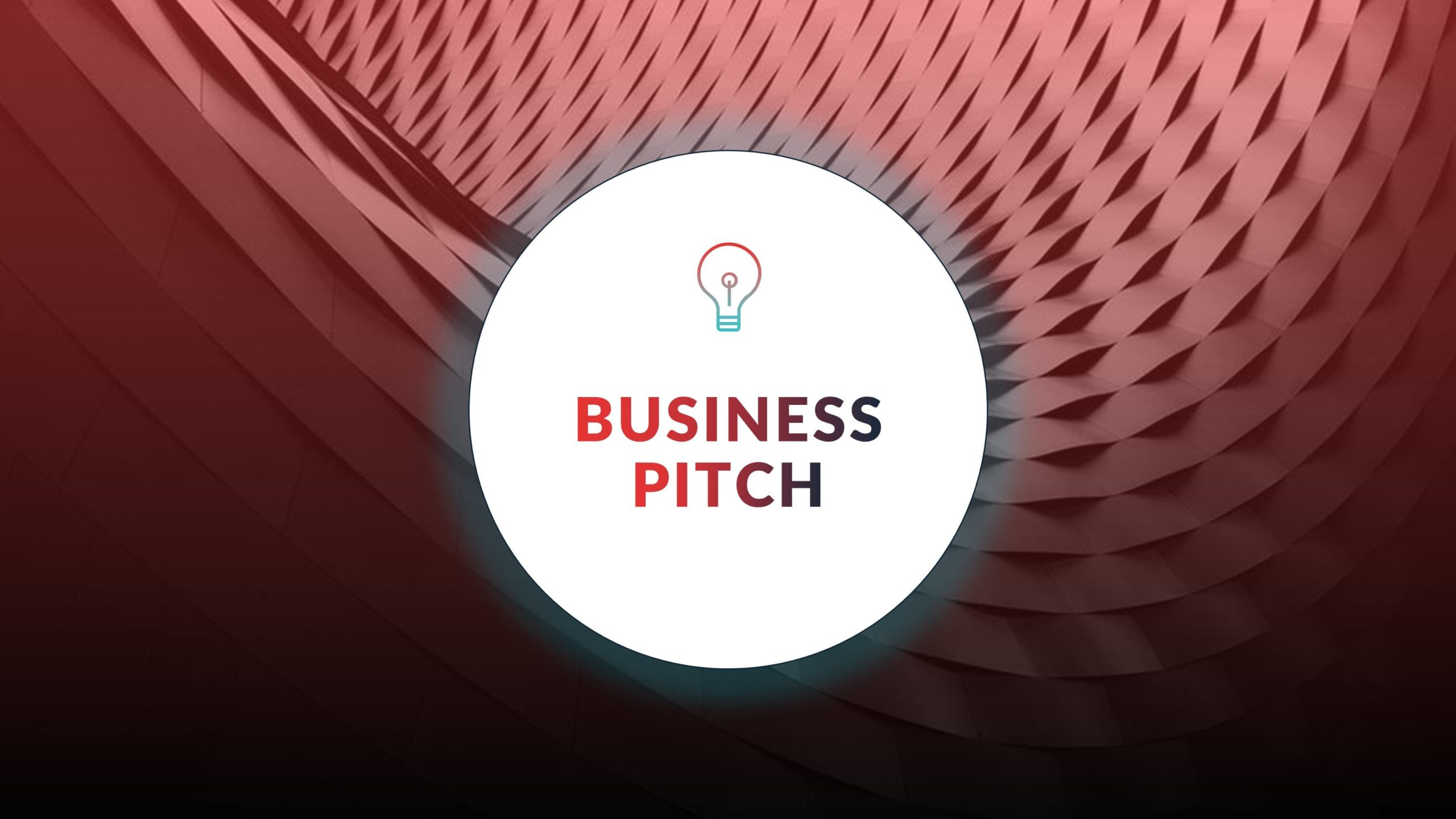 Free Red Business Pitch Presentation