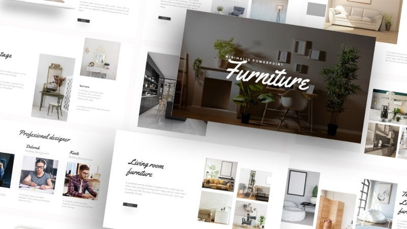 Free Property Interior PowerPoint Template