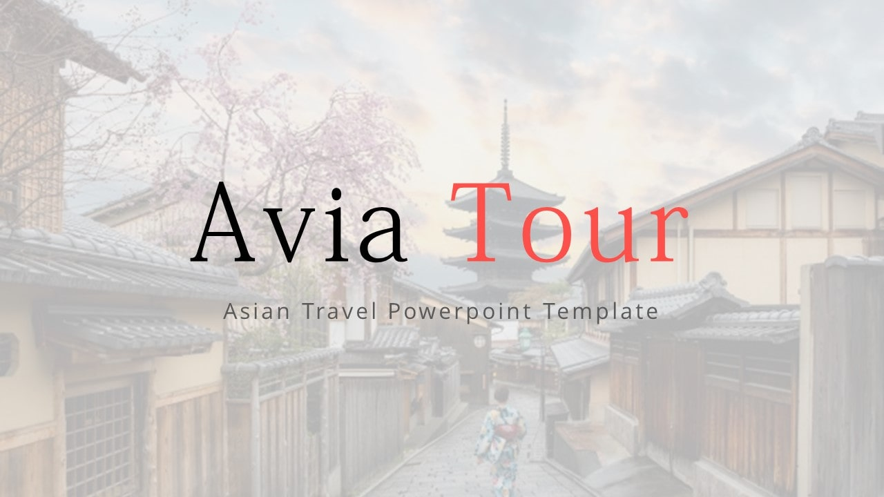 Free Avia Travelling PowerPoint Template