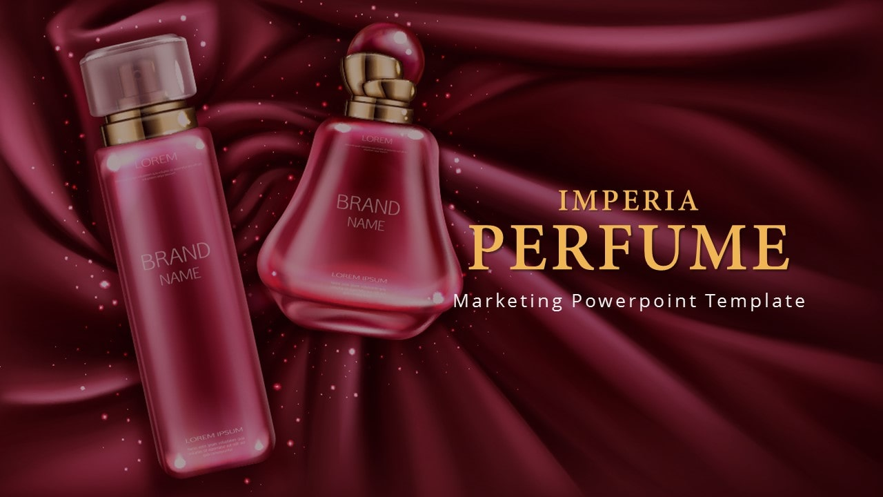Free Imperia Perfume PowerPoint Template